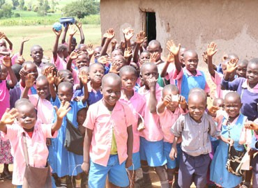 Orphans in Kenya